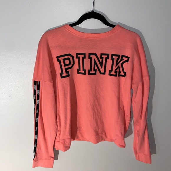PINK Victoria's Secret Tops - VS PINK crew neck sweater